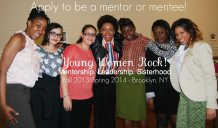 Apply to be a Young Women Rock‬! volunteer youth mentor (ages 18 - 30) or mentee (ages 14 - 18)! Details: www.womenworldwideinitiative.org/mentorship-program
