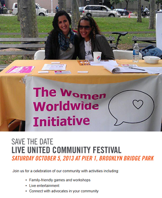 October 5: Join us at the Live United Community Festival in Brooklyn!